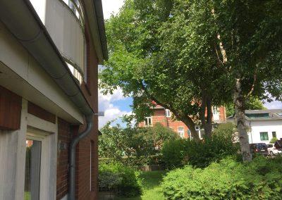 Hinterer Garten & Balkon